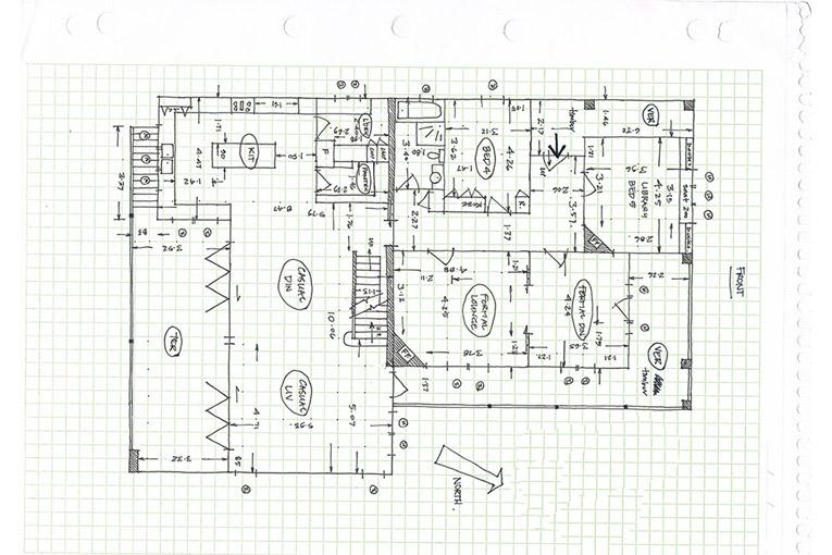 Before-Floor Plan