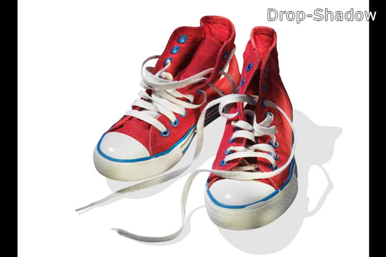 After-Clipping Path with Drop Shadow